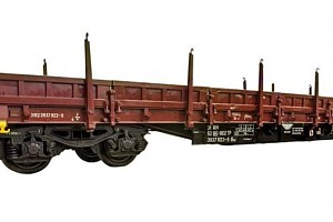4-axle flat wagon type Res