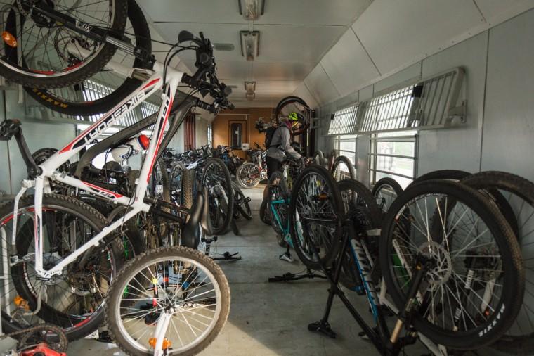 """""""БДЖ – Пътнически превози"""" ЕООД оказа съдействие за превоза на велосипедите на участниците в състезанието """"Байк и Рън за Чепън"""""""