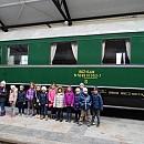 """Деца от столична детска градина посетиха специализирания  вагонен парк """"Ремиз"""""""