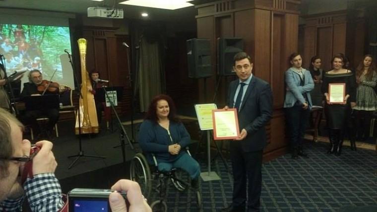 """""""БДЖ – Пътнически превози"""" ЕООД получи почетен приз """"Скритото добро"""" за провеждане на социални инициативи"""