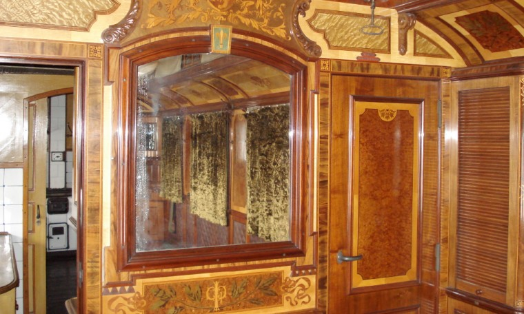 Вагон-салон № 5, произведен през 1894 г. в Бреслау-Германия, за княз Фердинанд