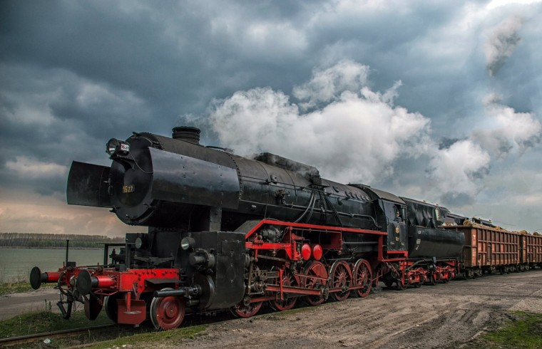 Steam Locomotive will pull the train on St. George's Day