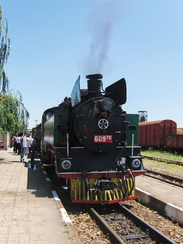 Теснопътен парен локомотив №60976