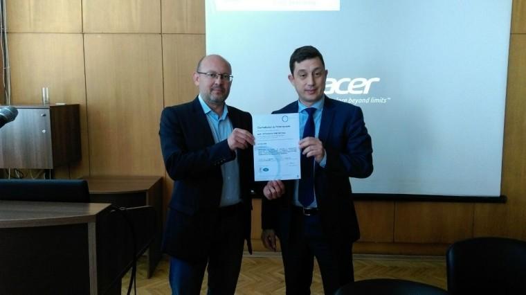 """""""БДЖ – Пътнически превози"""" ЕООД получи официален сертификат в съответствие с изискванията на ISO 9001:2008"""