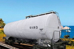 TANK WAGON FOR OIL PRODUCTS, 71 М3, Zas type