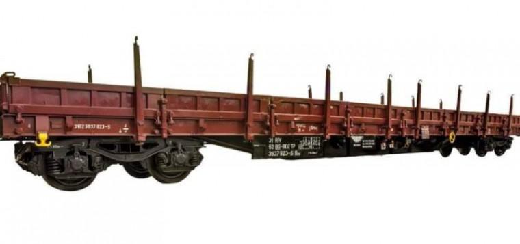 4-axle flat wagon type Res