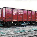 WAGON, FREIGHT, OPEN, 4-AXLED, FOR THE CARRIAGE OF ORES AND LOOSE GOODS, Eamnos type