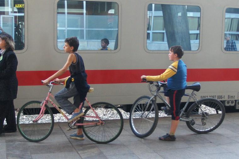 Превоз на велосипеди