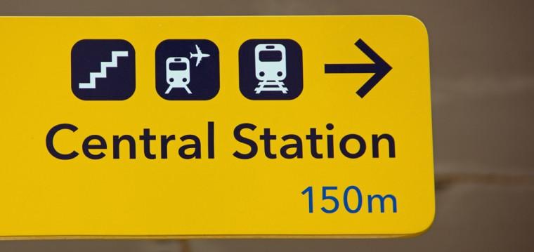 Office for international rail tickets