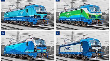 Гласувайте за дизайн на новите Smartron локомотиви