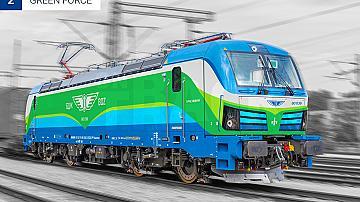 Избранa e графичната визия за новите локомотиви на БДЖ