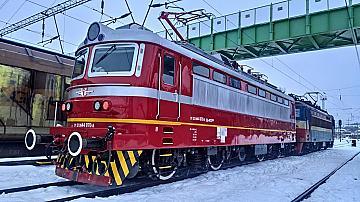 Още един изцяло обновен локомотив на БДЖ вече пътува по железопътната мрежа