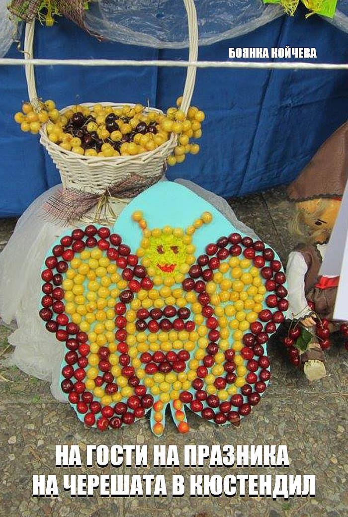 На гости на Празника на черешата в Кюстендил