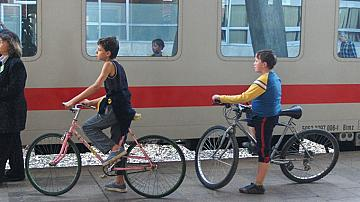 Transportation of bicycles
