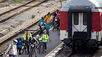"""БДЖ ще осигури превоза на участници и техните велосипеди в """"Байк и Рън за Чепън"""""""