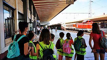 БДЖ проведе открит урок за деца в Горна Оряховица