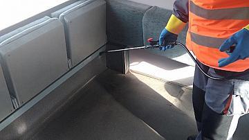 БДЖ въведе още по-стриктни допълнителни мерки за почистване и дезинфекциране на подвижния състав