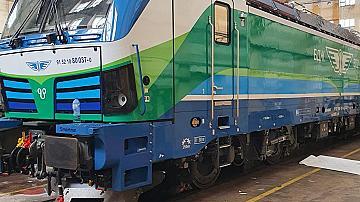 Поредният нов локомотив на БДЖ е включен в графика за движение на влаковете