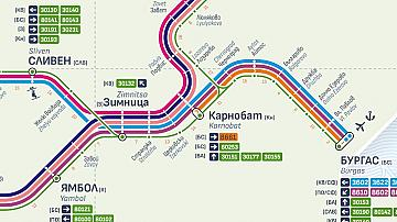 Временно беше прекъснато движението на влаковете през гара Карнобат