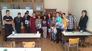 Представители на БДЖ откриха учебната година за първия випуск от специализирана паралелка в професионална гимназия в Мездра