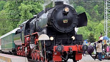 """Атракционен влак с парен локомотив и вагон от """"Корона експрес""""  ще пътува по повод Деня на независимостта"""