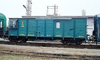 Фургон-вагон W764 №901