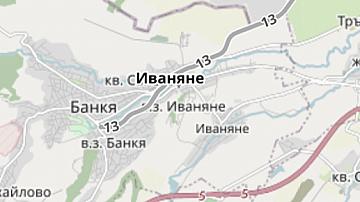 Временни промени в движението на четири влака между София и Банкя