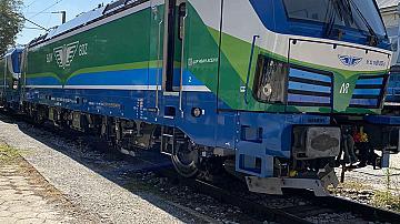 Нови два локомотива Смартрон вече са доставени на БДЖ