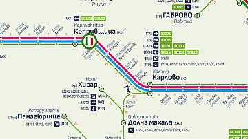 /Обновена/ Възстановява се движението на влаковете в участъка между Карлово и Антон